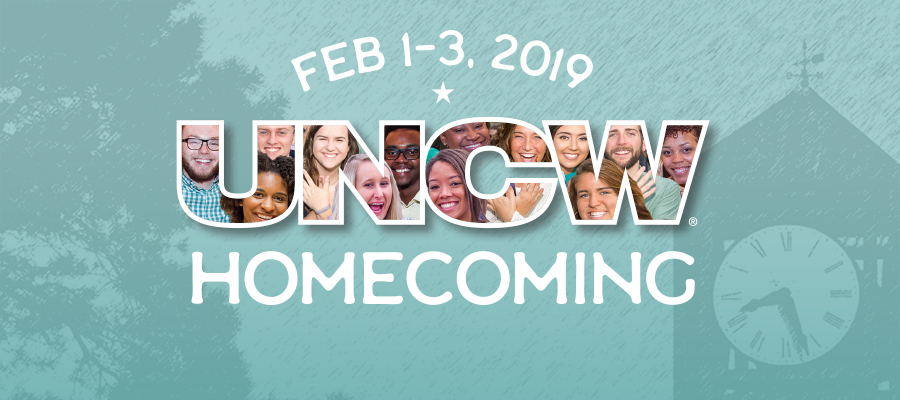 UNCW Homecoming Feb 1-3, 2019