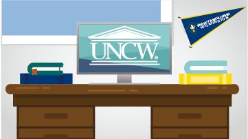 UNCW Zoom Background